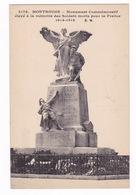 Jolie CPA Montrouge (Hauts-de-Seine), Monument Aux Morts 1914-1918. - Monuments Aux Morts