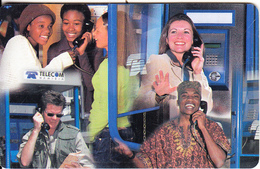 NAMIBIA(chip) - 10 Years Namibia Telecom 1992-2002/People On Phone, Chip SCS2, Used - Namibia