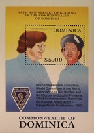Dominica 1989 Girl Guides S/S - Dominica (1978-...)