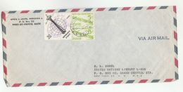 HAITI To UN NY USA  Franked 1962 SEATTLE EXPO  Stamps COVER  United Nations Airmail - Haiti
