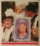 Dominica  1990 Queen Mother,90th. Birthday S/S - Dominica (1978-...)