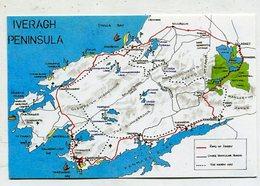 IRELAND - AK 329277 Ivergah Peninsula - Maps