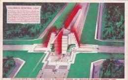 Chicago World's Fair 1933 Columbus Memorial Light - Chicago