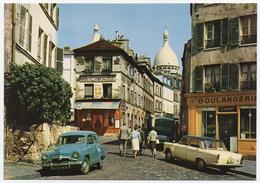 75 PARIS - 8288 - Edts Cap - Rue Norvins. Vieux Montmartre Entre Place Du Tertre, La Rue Des Saules & Rue Saint Vincent. - Sacré Coeur
