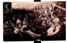 2228 - Paris - Cavalcade De La Mi-Carême 1910 - La Reine Du Marché Lenoir Et Ses Demoiselles D'Honneur - N°16 - - Manifestations