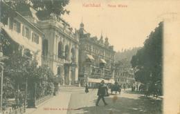 Karlsbad 1907; Neue Wiese - Gelaufen. (Brück & Sohn - Meissen) - Tchéquie