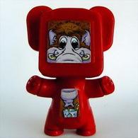 K257 / Kinder Série Robots / Robot Rouge / Ref : FT039 - Montables
