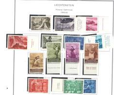 Liechtenstein PO 1959/64 Emissione Definitiva    Scott.336/349 See Scan On Scott.Page - Liechtenstein