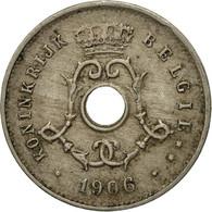 Monnaie, Belgique, 5 Centimes, 1906, TB, Copper-nickel, KM:55 - 1865-1909: Leopold II