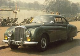 Bentley Continental  -  Carte Postale - Passenger Cars