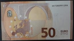 # 50 EURO - SD7280991299 / S016G2 - Firma Draghi (da Mazzetta) - EURO
