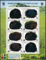Kyrgyzstan 1999 Mi.No. 172 - 175 Kirgisien HOLOGRAM WWF Animals Corsac Fox M\sh MNH** - Kyrgyzstan