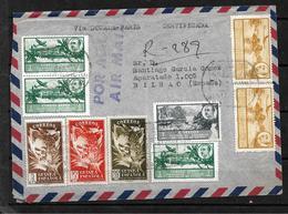 #S28# GUINEA ESPAÑOLA REGISTERED COVER 1951. - Guinea Spagnola