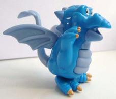 K283 / Kinder Série Dragons / Dragon Bleu / Ref : TT004 - Montables