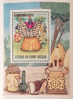 Guinea-Bissau 1976 Masked Dancer S/S  POSTAGE FEE TO BE ADDED ON ALL ITEMS - Guinea-Bissau