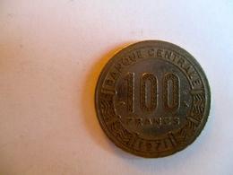 République Centrafricaine: 100 CFA 1971 - Central African Republic