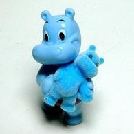 K292 / Kinder Série Spéciale 40 Ans / Hippo Et Sa Peluche / Ref : FF267 - Monoblocs