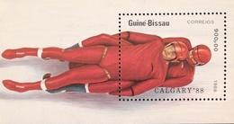 Guinea-Bissau 1988 Winter Olympics, Calgary S/S - Guinea-Bissau
