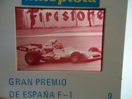 DIAPOSITIVE / SLIDE  FRANCOIS MIGAULT - Motul - BRM Formule 1 - 1974 - Diapositives (slides)