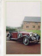 Bentley 'Three-and-a-half-Litre' Tourer  -  1935  -  Carte Postale - Passenger Cars