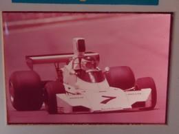 DIAPOSITIVE / SLIDE  CARLOS REUTEMANN  - BRABHAM Grand Prix Formule 1 - 1974 - Diapositives (slides)