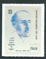 Italia, Italy 2018; Disegno, Drawing, Del Grande  Scultore Giacomo Manzù Che Raffigura Il Poeta Salvatore Quasimodo. - Arts