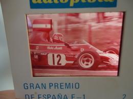 DIAPOSITIVE / SLIDE  NIKI LAUDA - FERRARI 312 - Grand Prix Formule 1 1974 - Diapositives (slides)