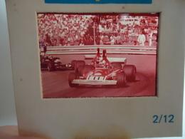 DIAPOSITIVE / SLIDE  CLAY REGAZZONI - FERRARI 312 - Grand Prix Formule 1 1974 - Diapositives (slides)