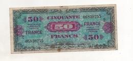 00129 50 Francs - FRANCE - Série 2 - Billet Du Débarquement - Série De 1944 - Otros
