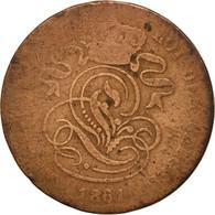 Monnaie, Belgique, Leopold I, 2 Centimes, 1861, TB, Cuivre, KM:4.2 - 1831-1865: Léopold I
