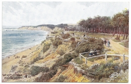 West Cliff Walk Bournemouth By A R Quinton - Unused C1915 - J Salmon 921 - Quinton, AR