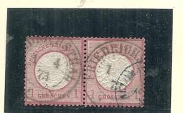 ALLEMAGNE -  Empire  N ° 16  Côte 12,00€ Paire - Deutschland
