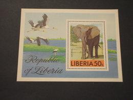 LIBERIA - BF 1976 ELEFANTE - NUOVO(++) - Liberia