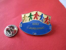PIN'S    Ecole  Jean JAURES  Epinac - Verenigingen
