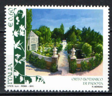 ITALIA - 2011 - ORTO BOTANICO DI PADOVA - MNH - 6. 1946-.. Repubblica
