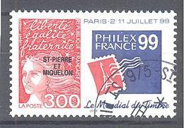 Saint Pierre Et Miquelon: Yvert N° 674°; Exposition Philatélique - St.Pierre & Miquelon