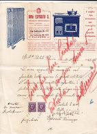 """PALERMO _ 1942 /  Fattura Commerciale  Ditta  """" ESPOSITO S. """" - Italy"""