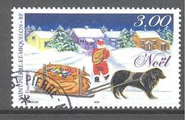 Saint Pierre Et Miquelon: Yvert N° 685°; Noël - St.Pierre & Miquelon