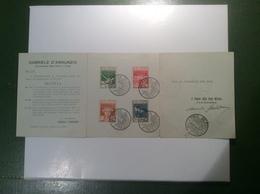 """Ingresso Dei Legionari A Fiume"" 1920 Sa. 127-130 Folder (Italia Italy Italie WW1 Yougoslavie Jugoslawien Yugoslavia - Fiume"