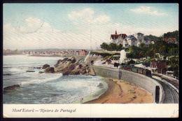 MONT'ESTORIL Postal Endereçado Para MINISTRO Da RUSSIA. Old Postcard To Russia Minister (LISBOA) PORTUGAL 1900s - Lisboa