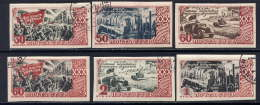 RUSSIE -1160B/1165B° - 30è ANNIVERSAIRE DE LA REVOLUTION D'OCTOBRE - Used Stamps