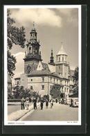 AK Krakau-Krakow, An Der Kathedrale - Polen
