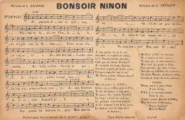 BONSOIR NINON - Musique