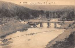 CHINY - Le Pont Saint-Nicolas Et Le Barrage - Chiny
