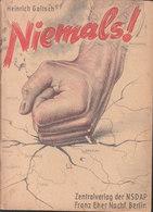 Niemals (Heinrich Goitsch) - 5. Guerres Mondiales