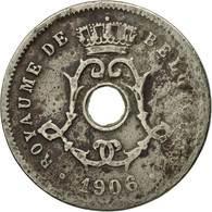 Monnaie, Belgique, 5 Centimes, 1906, TB, Copper-nickel, KM:54 - 03. 5 Centimes