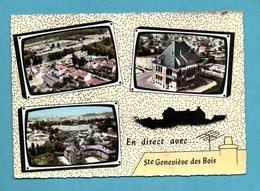 91 Essonne Sainte Genevieve Des Bois Carte Postale Multivues - Sainte Genevieve Des Bois