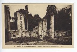 CPA Abbaye De Saint Wandrille Ruines Des Chapelles Absidales 61 - Saint-Wandrille-Rançon