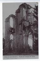 CPA Carte Photo Abbaye De Saint Wandrille Ruines Du Transept Capriolo Caudebec Breger Paris - Saint-Wandrille-Rançon