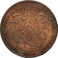 Monnaie, Belgique, Leopold I, 5 Centimes, 1850, TTB, Cuivre, KM:5.1 - 1831-1865: Léopold I.